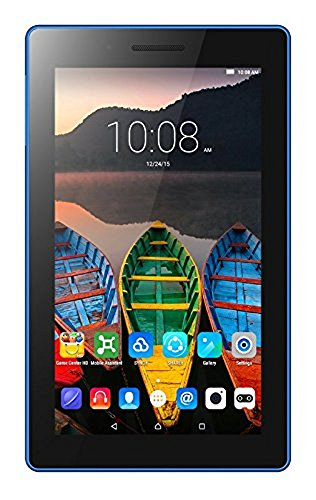 Lenovo Tab3 7 Essential 17,7 cm (7'' WSVGA IPS Touch) TB3-710F Tablet-PC (Mediatek MT8127, 1GB RAM, 8GB eMCP, Android 5.0) Tablet Solo Wifi, Nero