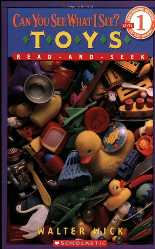 Can You See What I See?: Toys: Read-and-seek (Beginning Readers Level 1)の詳細を見る
