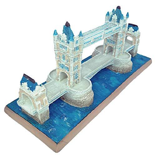 DECORATION D'intérieur, Modèles De Bâtiment Historique, Tower Bridge, Londres (Royaume-uni), Objets De Collection Décoratifs, Souvenirs Touristiques (21,3 X 8,2 X 9,3 Cm)