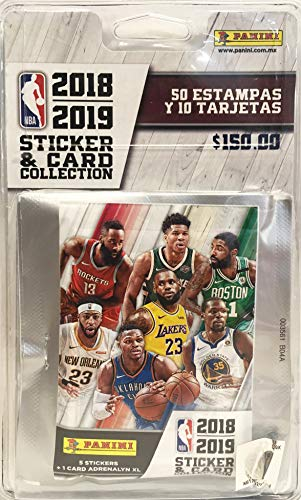 Panini - 6 Hüllen NBA 2018-19, 2424-038