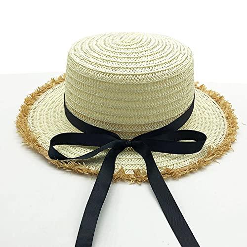 N\C Sombreros de Paja para Mujer, Sombreros de Viaje para Mujer, Sombreros de Playa, Sombreros de Punto, Gorras de protección UV, Gorras Deportivas al Aire Libre, Gorras de béisbol, Gorras con Visera