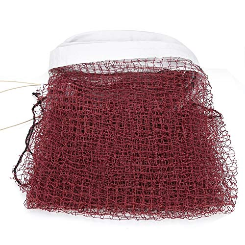 Tarente Dauerhafte Red Badminton-Netz mit Seil Kabel Top Replacement Training Zubehör Üben