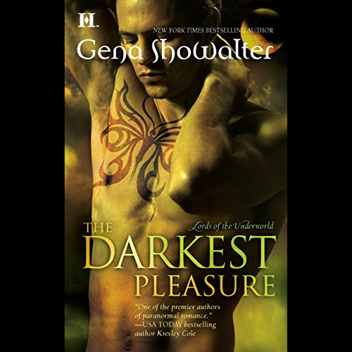 The Darkest Pleasure audiobook cover art