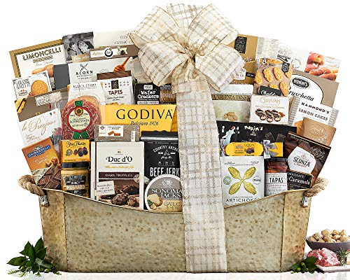 The V.I.P. Gourmet Gift Basket The Ultimate Gifting Experience. Show Your Appreciation With This Flawless Gift Idea