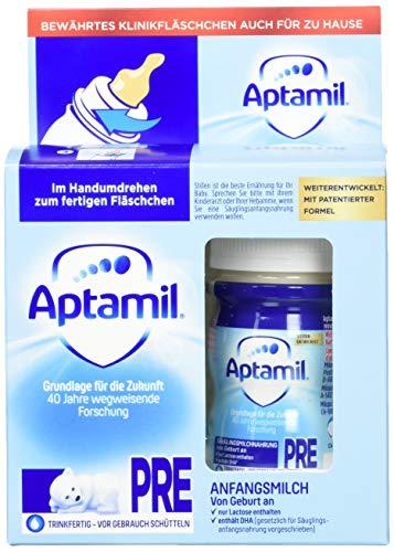Aptamil Pronutra-ADVANCE PRE, Anfangsmilch von Geburt an, Baby-Milchnahrung trinkfertig (6 x 2 x 90 ml)