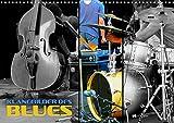 Klangbilder des Blues (Wandkalender 2021 DIN A3 quer)