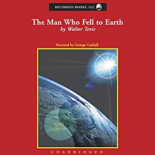 The Man Who Fell to Earth audiobook cover art