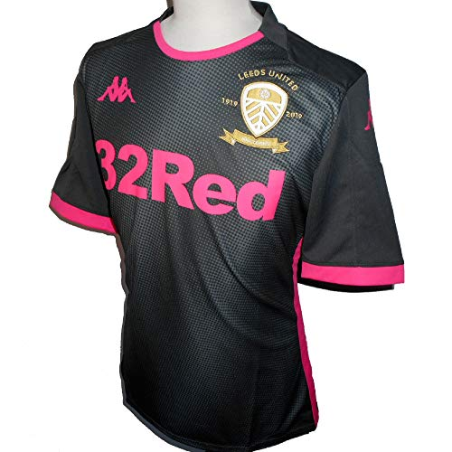 Kappa Leeds United Away Trikot 2019-2020 XL grau