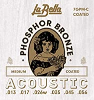 La Bella(ラベラ) アコースティック弦 7GPM-C Coated ミディアムテンション