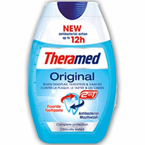 Theramed 2 In 1 Original Tandpasta, 75 ml