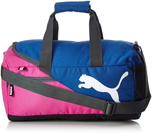 Puma Fundamentals Sports Bag XS Sporttasche, Rose Violet-True Blue, 45 x 22 x 25 cm