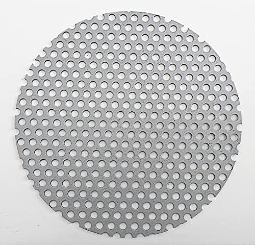 158Φ Solo Stove ロストル ソロストーブ キャンプファイヤー用 電気メッキ鋼板 板厚1.6ミリ 当店オリジナル◆ハンドメイド (穴直径5mm)