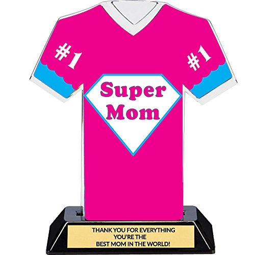 Super Mom Trophy with Free Engraving