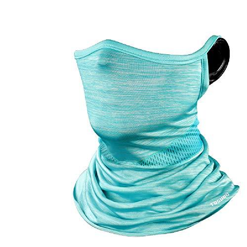 XBAO Halstuch Maske,Bandanas schlauchschal,für Yoga Laufen Wandern Radfahren Motorradfahren,Kopfbedeckung UV Residenz,Ideal für Fitness und Freizeit,Mundschutz gegen Kälte und Insekten