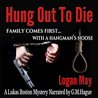 Hung Out to Die audiobook cover art