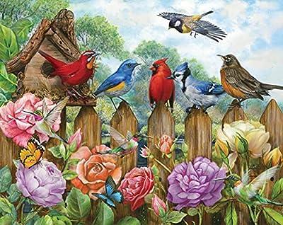 Springbok's 500 Piece Jigsaw Puzzle Morning Serenade - Made in USA by Springbok