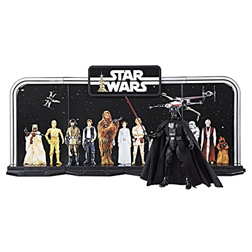 Hasbro Star Wars C1626EU4 - The Black Series 6 Zoll Diorama, Jubiläums-Figurenset