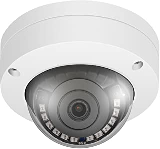 Alptop IP PoE Security Dome Camera 4 Megapixels HD Network Camera IR Night Vision Motion Detection Vandalproof Support