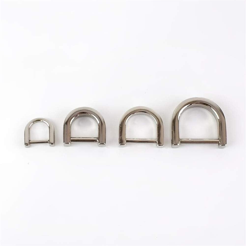 Roller design 5pcs 1-2cm D Ring Belt Buckle Metal Wallet Award-winning store mart Buc Bag