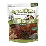 DreamBone Small DinoChews 14 Count, Rawhide-Free Dinosaur-Shape Treats For Dogs