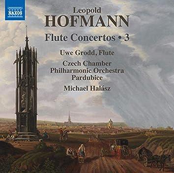 Hofmann: Flute Concertos, Vol. 3