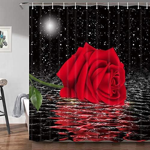 Rose shower curtain _image1