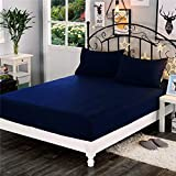 Dream Care™ Waterproof Dustproof Terry Cotton Mattress Protector for King Size Bed