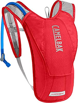 CamelBak HydroBak Hydration Pack 50 oz, Racing Red/Silver