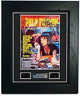 Best pulp fiction signed movie poster Reviews