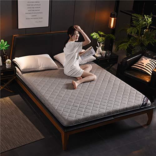 MM-CDZ Zweiseitige Matratzentopper Auflage,dick Schlafenden Tatami Bodenmatte,Quilting Atmungsaktive Traditionellen Japanischen Futon Kissen Knitted Bett Topper Pillow-top Matratze-b-4cm Queen