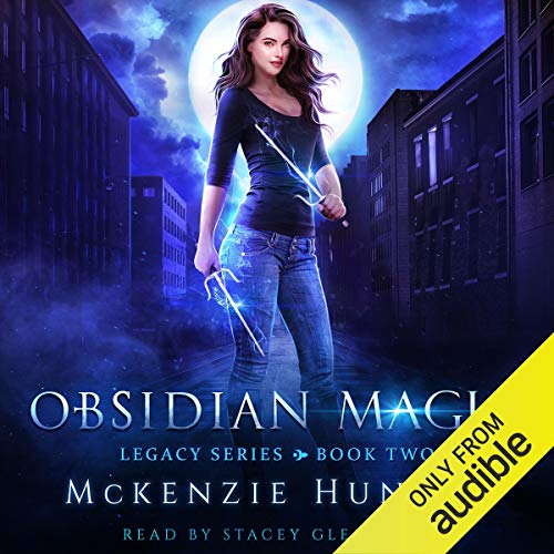 Obsidian Magic audiobook cover art