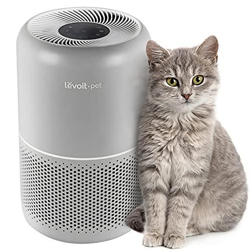 LEVOIT Purificador de Aire para Hogar con Mascotas, Filtro HEPA H13, Elimina del 99,97% de 0,3 Micrones Polvo de Humo, Mascotas Caspa de Pelo, Alergias, Olores,Silencioso Modo de Sueño 24dB, Core P350