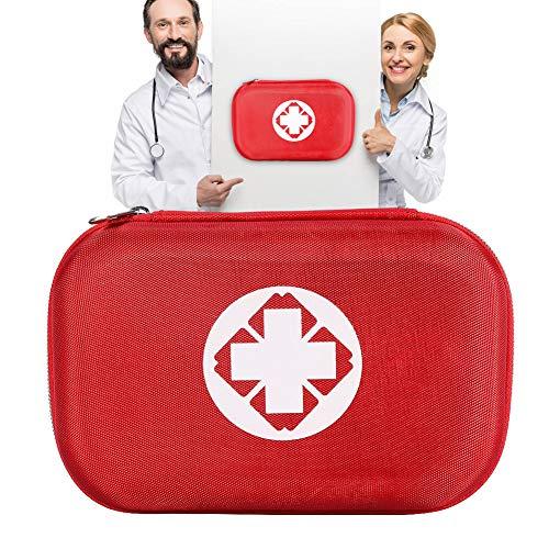 Erste-Hilfe-Kit, enthalten Instant-Cold-Pack, Gaze-Tupfer, Klebeverbände, Vliesrolle usw. für Zuhause, Auto, Camping, Büro, Boot und Reisen