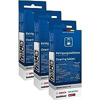 3 x 10 original Bosch Siemens Neff Gaggenau pastillas de limpieza