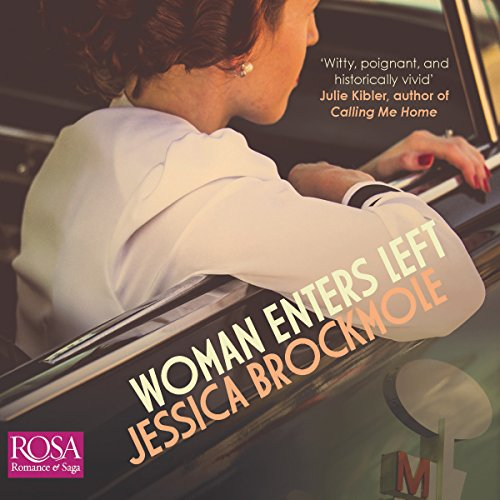 Woman Enters Left audiobook cover art