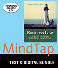Bundle: Business Law: Principles for Today's Commercial Environment, Loose-Leaf Version, 5th + MindTap Business Law, 1 term (6 months) Printed Access Card