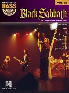Bass Play Along Volume 26 Black Sabbath Bass Guitar Tab Book/Cd (Hal Leonard Bass Play-Along) by VARIOUS (2010) Paperback