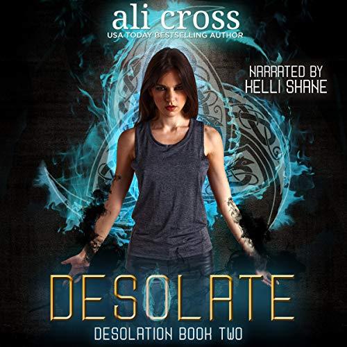 Desolate audiobook cover art