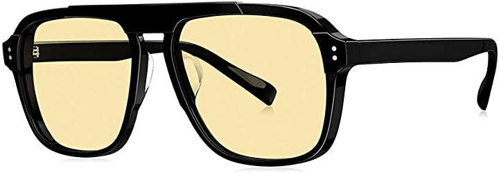 Occhiali da sole moda uomo e donna con lenti sfumate, lenti polarizzate anti-ultravioletto,b aimcae 118-494-393