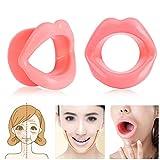 Silicone Lip Trainer Lifting facial Ejercitador de labios Boca Músculo tensor Apriete Herramienta antiarrugas para belleza de labios