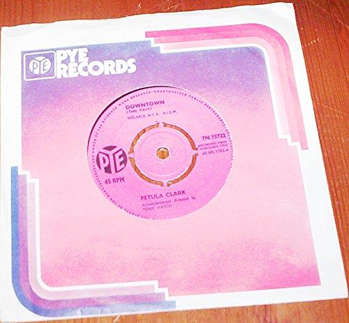 PETULA CLARK - DOWNTOWN - 7 inch vinyl / 45