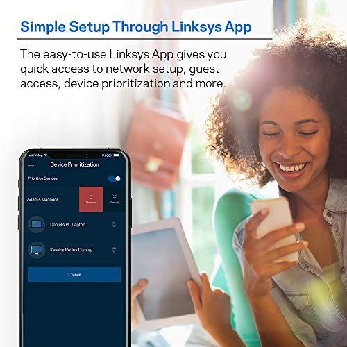 Linksys WHW0303 - Punto de acceso (867 Mbit/s, 867 Mbit/s, 10,100,1000 Mbit/s, IEEE 802.11ac,IEEE 802.11b,IEEE 802.11g,IEEE 802.11n, 256-QAM,QAM, WPA2)