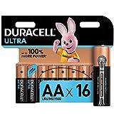 Duracell Ultra, lot de 16 piles alcalines Type AA 1,5 Volts LR6 MX1500 [Amazon exclusive]
