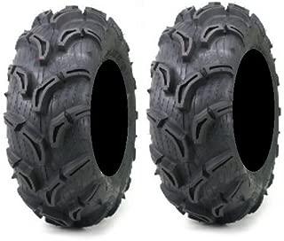 Pair of Maxxis Zilla ATV Mud Tires 25x8-12 (2)