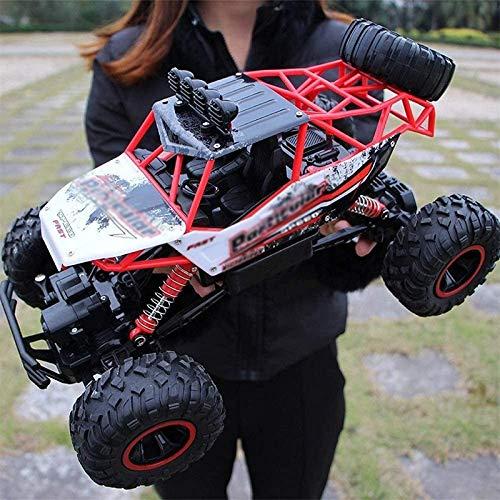 CYYDMM 4WD RC Coche,1:12 Off-Road Coche Teledirigido con Baterías Recargables,2.4GHz Crawler Camiones de Control Remoto Juguete, Regalo para Niños Adultos