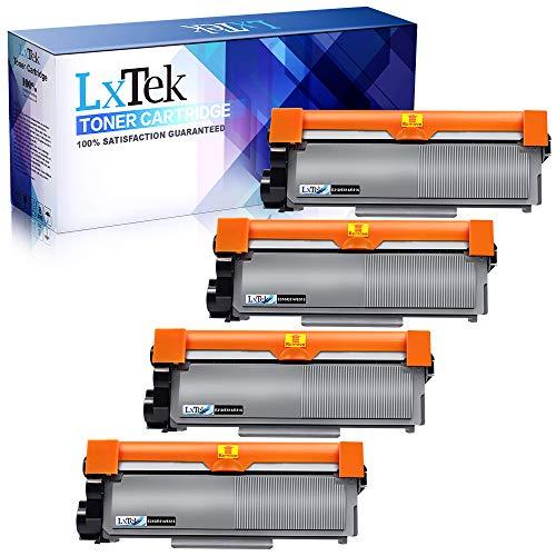 LxTek Compatible Toner Cartridge Replacement for Dell E310dw P7RMX PVTHG 593-BBKD to use with E310dw, E515dw, E514dw, E515dn Laser Printers, High Yield (Black, 4-Pack)