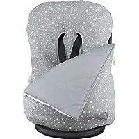 JANABEBE Funda + Saco para silla de coche grupo 0 White Star