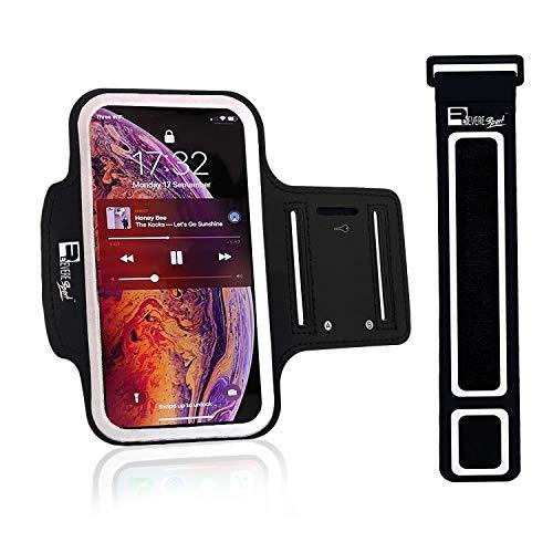 Bracelet RevereSport pour iPhone XS Max / 11 Pro Max Sport. Étui de téléphone pour coureurs, séances d'entraînement, gymnase, fitness et sport