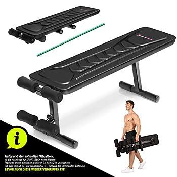 MULTIFONCTIONS : Le banc de musculation 8-en-1 vous offre une infinité de possibilités pour vous entraîner. Parfait pour se muscler la ceinture abdominale et les muscles dorsaux comme en faisant des pompes, des curls du biceps, des flexions de jambes...