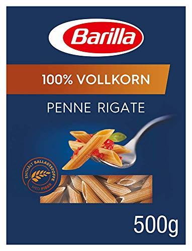 Barilla Vollkorn Pasta Penne Rigate Integrale – 6er Pack (6 x 500g)
